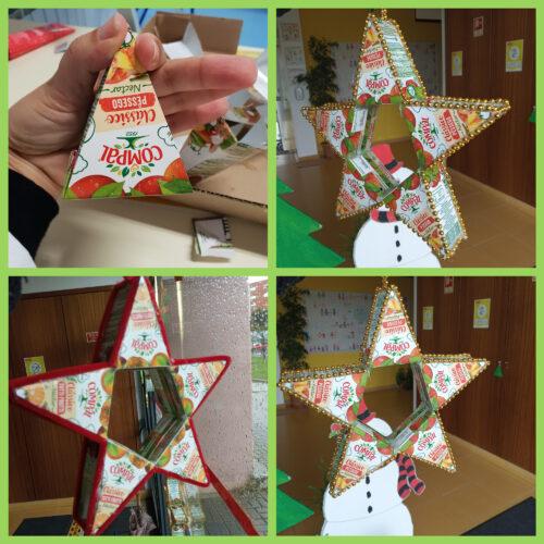 As estrelas com prismas triangulares. (1º Ciclo)