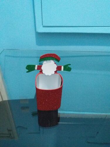 Pai Natal. Este trabalho foi realizado com uma criança e respetiva família.