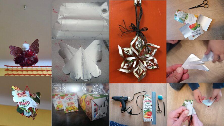 Anjo da Família e Estrela de Natal