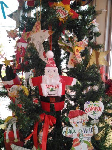 Pormenor árvore de Natal