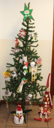 Com a Compal decoramos o nosso Pinheirinho de Natal