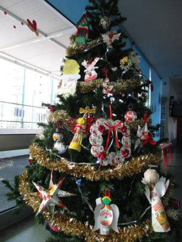 A nossa Árvore de Natal ecológica
