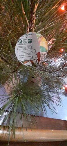 Bola de Natal com FSC