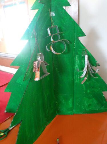 Plano aproximado da árvore de Natal