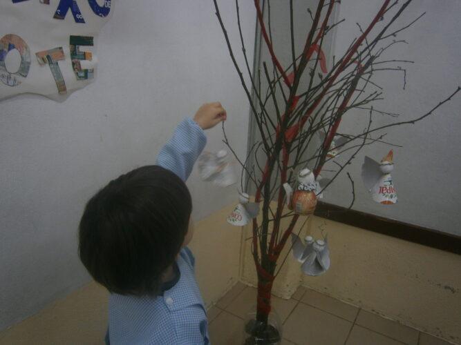 Decoração da árvore