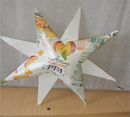 Estrela realizada pela família do Simão C.