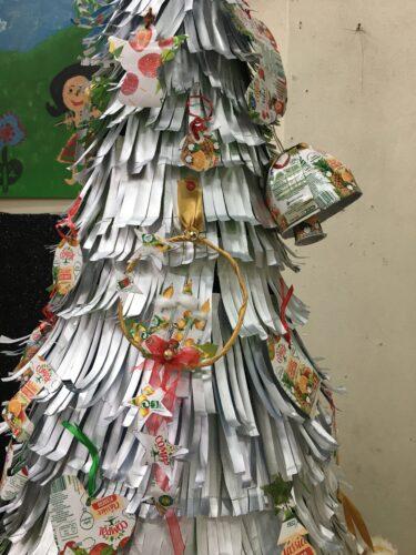 Enfeite na Árvore Eco Escolas