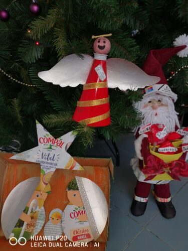 Presépio, Anjo e Pai Natal EB LNJ