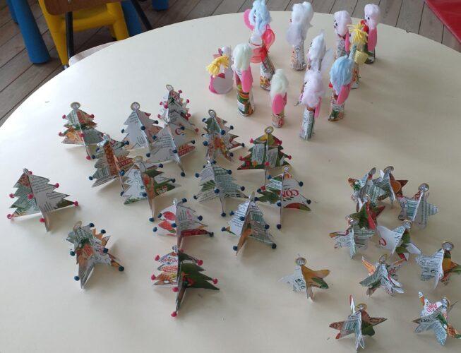 Trabalhos finalizados - alguns exemplos de trabalhos realizados pelos alunos das turmas.