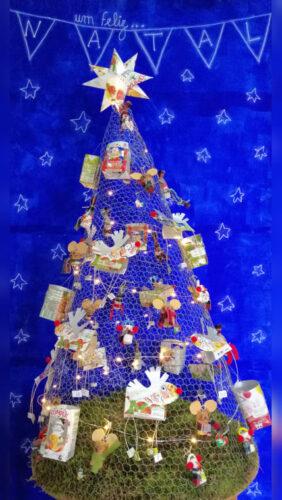 A nossa Árvore de Natal.