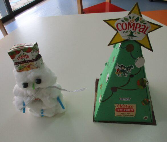 Boneco de Neve <br/>Árvore de Natal