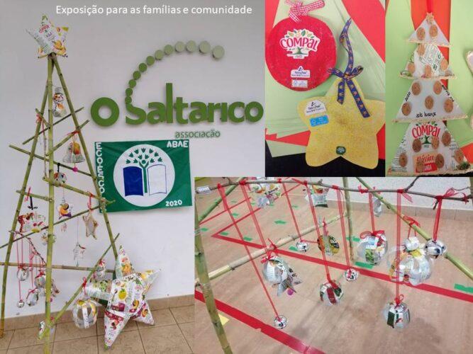 Exposição no exterior para famílias e comunidade
