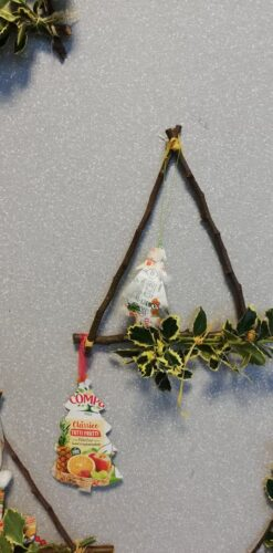 As arvores que decoram a nossa árvore de Natal