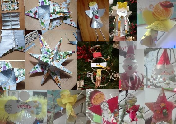 Que grande criatividade e imaginação nos diversos enfeites criados!