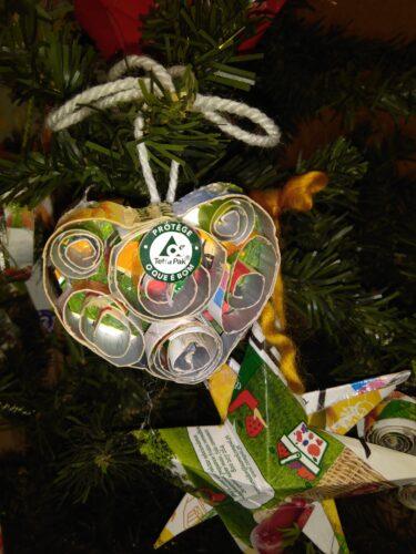 Enfeites de natal<br/>Alguns pormenores das decorações natalícias
