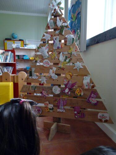 Produto final, a nossa árvore com a Compal.