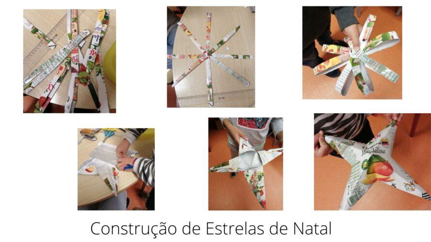Construção de Estrelas de Natal