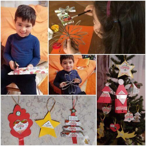 Estrela! ... a verdadeira magia do Natal! A alegria de reciclar!