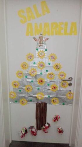 A mais bela árvore de Natal ecológica e feliz!