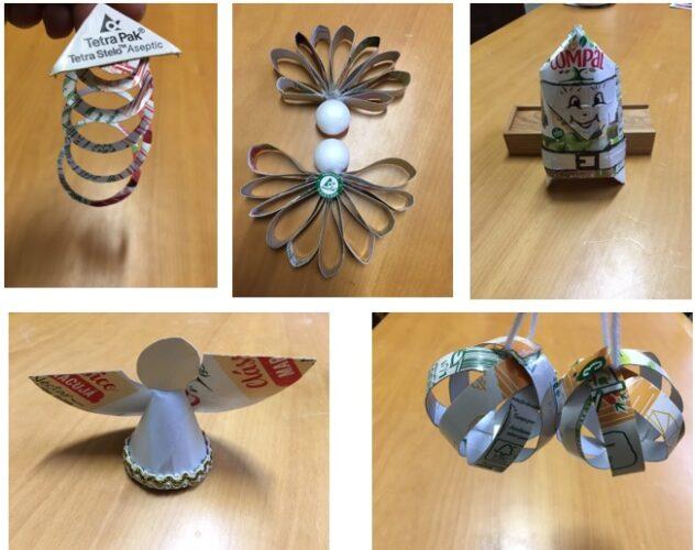 Trabalhos de tema sugerido pelos alunos das turma do 2º ano E e 3º/4º ano - F1 nas aulas de Expressão Plástica.